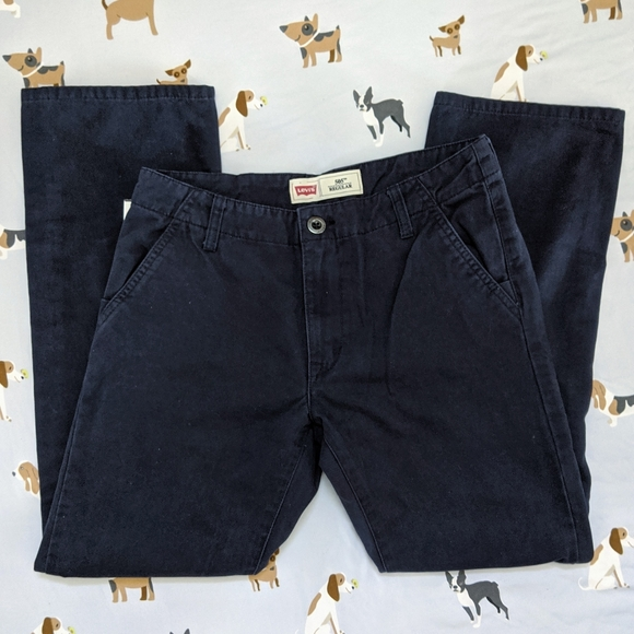 Levi's Navy Blue Skater Pants